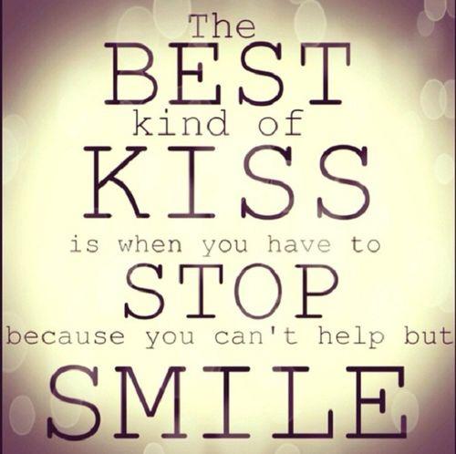Kissing teeth . . .